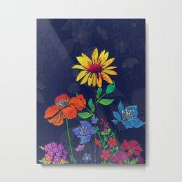 Flower Tales 6 Metal Print