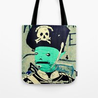 soldier Tote Bags featuring soldier by very giorgious