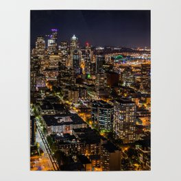 Seattle Nights Poster