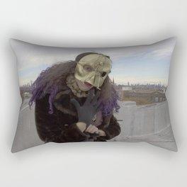 Wearing My Skeleton on My Face, No. 7 Rectangular Pillow