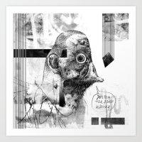 Kaczoludź - ZONA Art Print