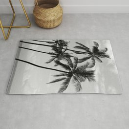 Palm Trees Hawaii Rug