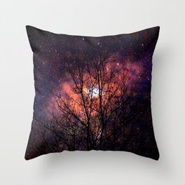 the shaft of the constellation Throw Pillow