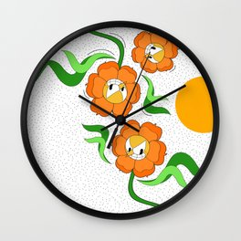 Cagney Carnation Wall Clock