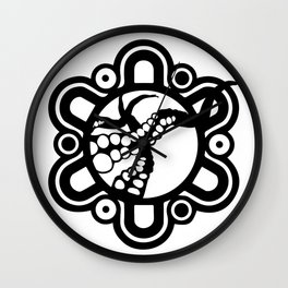 Octofish Design Logo Wall Clock