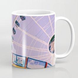 Swing Ride Sunset (Color) Coffee Mug