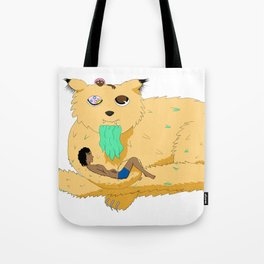 Old Cheeky Cat Tote Bag