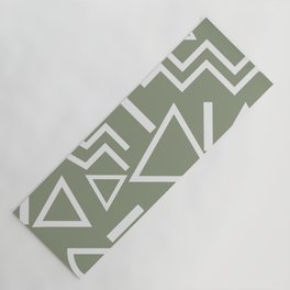 Shapes- lost and found Yoga Mat