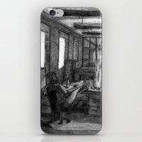 the office iPhone & iPod Skins featuring Office by Bruno Ruiz De Somocurcio