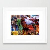 southwest Framed Art Prints featuring Southwest by ArtbyJudi