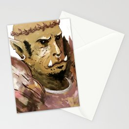 prince of feathers ork Stationery Cards