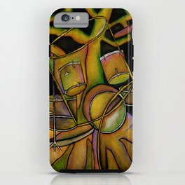 Drums- Rooted Beat iPhone Case