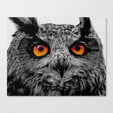 YOU'RE THE ORANGE OF MY EYES Canvas Print