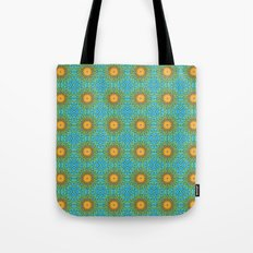 Yellow Salsify Flower Pattern Tote Bag