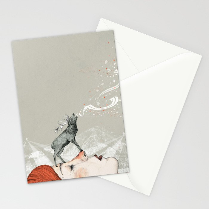 Deer Lady! Stationery Cards