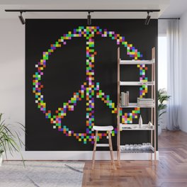A Peace of Retro Wall Mural