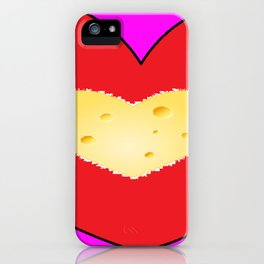 Cheesy Love iPhone Case