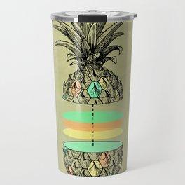 Sliced pineapple Travel Mug