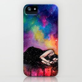 Everytime I close my eyes it's like a beautiful paradise iPhone Case