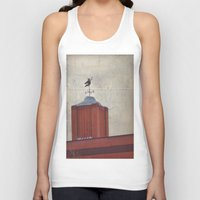 witch Tank Tops featuring Witch by Elina Cate