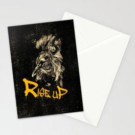 Rise Up - Roaring Lion Revolution Art Stationery Cards