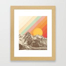 Mountainscape 1 Framed Art Print