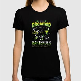 Bartender Party Cocktail Sexy Pun T-shirt