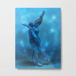 Love under water Metal Print