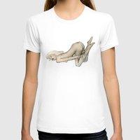 bondage T-shirts featuring Bondage by Kinky Girl
