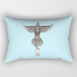 enola gay Rectangular Pillow