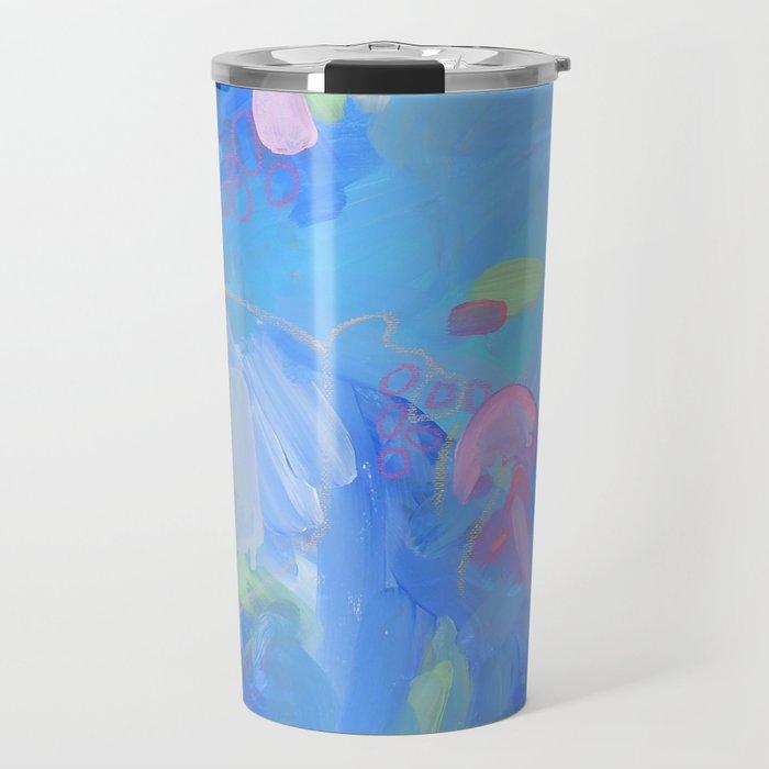The Dream - Abstract Fresh Contemporary Travel Mug