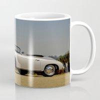porsche Mugs featuring Porsche Speedster by Hugh Hamilton