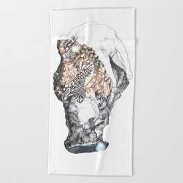 untitled (from the stone maiden series) Beach Towel