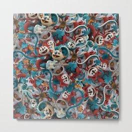 Plasticine 2016 collection salad Metal Print