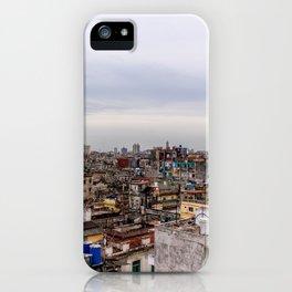 Ciudad de La Habana iPhone Case
