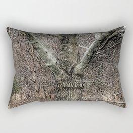 """""""Tree Hugs"""" Rectangular Pillow"""