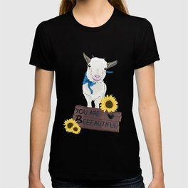 Supportive Goat T-shirt