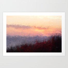 sunsetworld Art Print