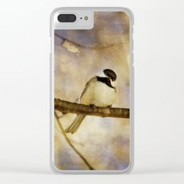 Little Poser Clear iPhone Case