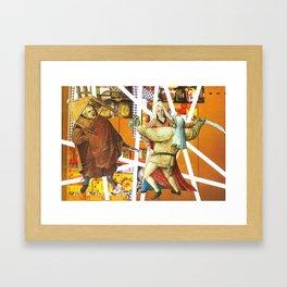 Domestic Issues Framed Art Print