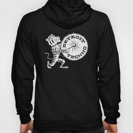 Detroit the Techno White Tiger Hoody