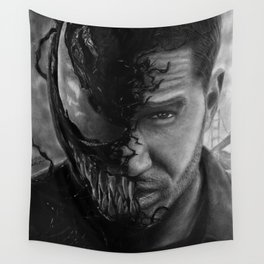 Eddie Brock/Venom Wall Tapestry