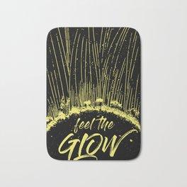 Feel the Glow // moonlight version Bath Mat