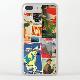Russian Travel 2 Clear iPhone Case