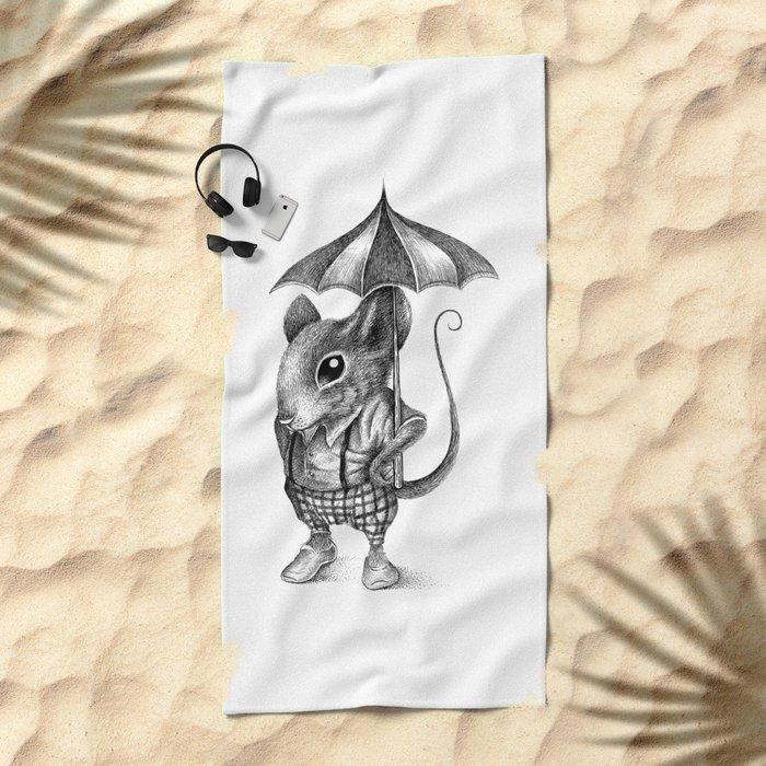 MISTER MOUSE Beach Towel