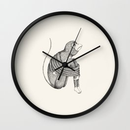 'Insecurity' Wall Clock