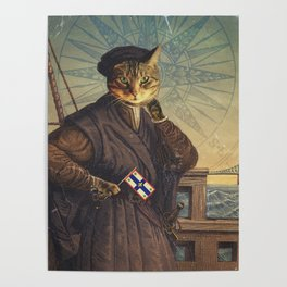 Jacques 'Chat'tier Poster