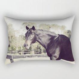 Beautiful in Blac 2 Rectangular Pillow