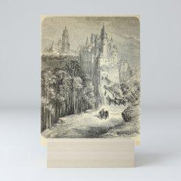 Gustave Doré - Spain (1874): Alcázar and Cathedral, Segovia Mini Art Print