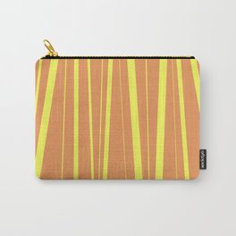 Orange And Yellow Stripes - Abstract Sunshine Carry-All Pouch